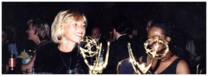 Photo of Maggie at the Emmy Awards