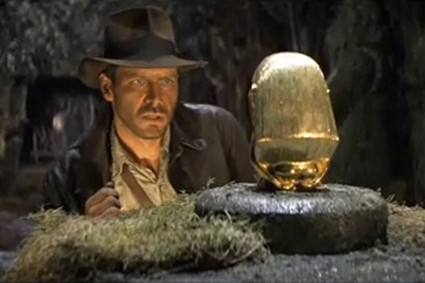 Photo from the Indiana Jones Trailer