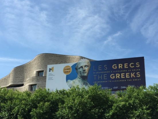The greeks opening
