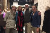 [From L to R] Elizabeth Hertzfeld-Kamprath, Maggie Burnette Stogner, Rick Stack, Mary Alice McMillan